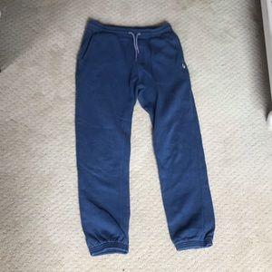 Volcom YOUTH XL navy sweatpants.